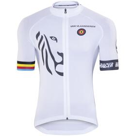 Bioracer Van Vlaanderen Pro Race Fietsshirt korte mouwen Heren wit